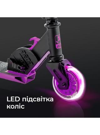 Самокат Neon Vector Рожевий