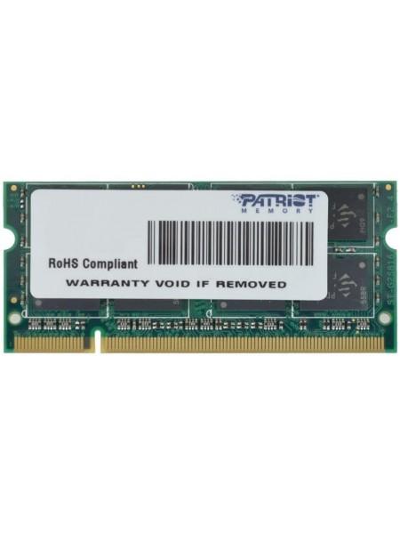 Пам'ять до ноутбука Patriot DDR2 800 2GB SO-DIMM