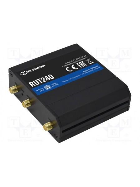 Індустріальний 4G/LTE маршрутизатор Teltonika RUT240 (RUT24006E000)