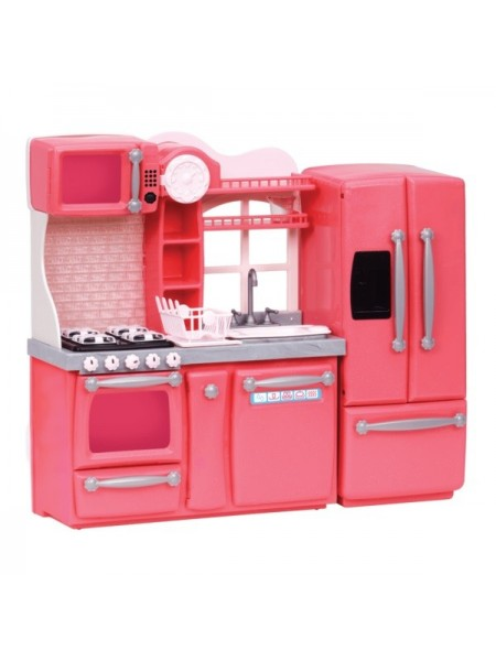 Набір меблів Our Generation Кухня для гурманів, 94 аксесуара рожева BD37365Z