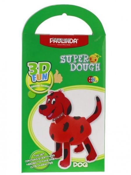 Маса для ліплення Paulinda Super Dough 3D FUN Собака PL-081285