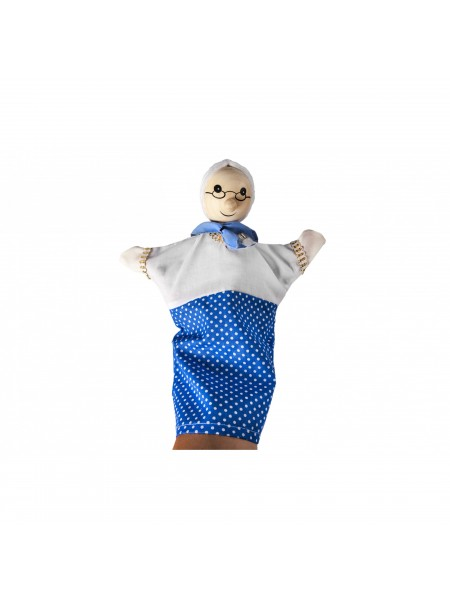 Лялька-рукавичка goki Бабуся 51990G