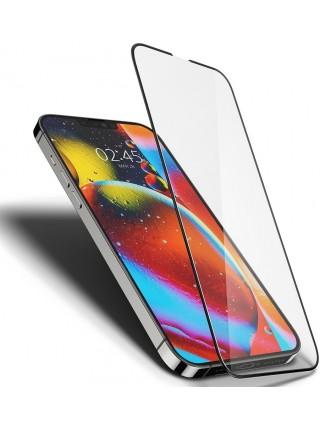 Захисне скло Spigen для Apple iPhone 13 Pro Max tR Slim FCHD, Black (1Pack)