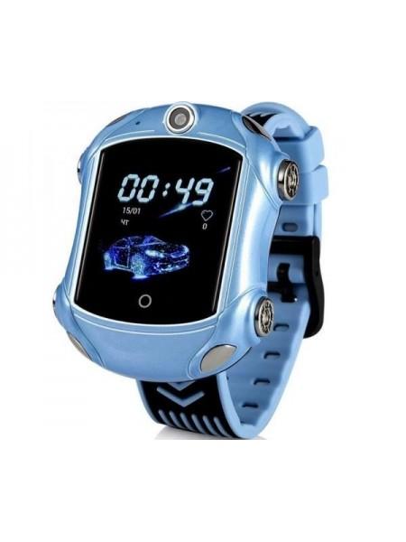 Дитячий GPS годинник-телефон GOGPS ME X01 Синій (X01BL)