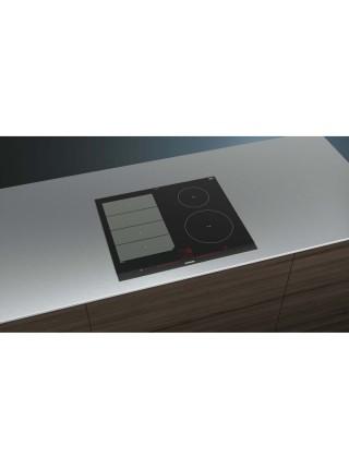 Варильна поверхня склокерамічна Siemens EX675LEC1E -індукція/60см/3 зони нагріву/слайдер/чорний
