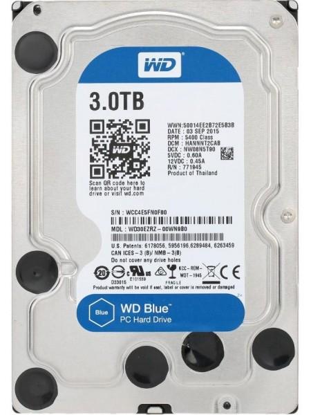 "Жорсткий диск WD 3.5"" SATA 3.0 3TB 5400 256MB Blue"