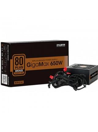 Блок живлення Zalman 650-GVII GigaMax (650W),80+Bronze,aPFC,120мм,24+(4+4),5xSATA,2xPCIe,+3,1xFDD