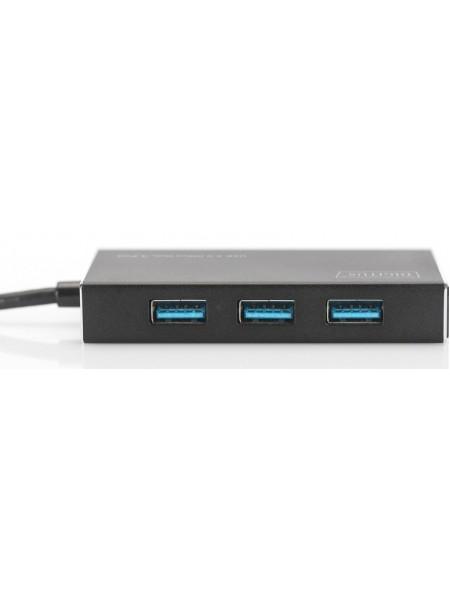 Концентратор Digitus USB 3.0 Hub, 4-port (DA-70240-1)