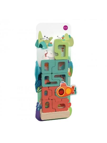 Настінна іграшка Oribel Veritiplay Пазл Загадковий Акваріум OR818-90001