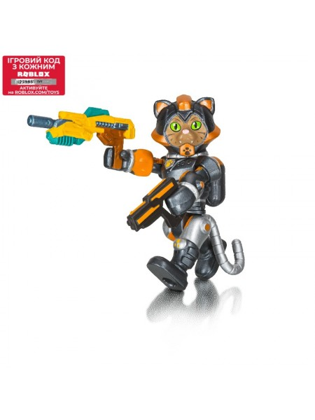 Ігрова колекційна фігурка Jazwares Roblox Core Figures Cats...IN SPACE: Sergeant Tabbs W5