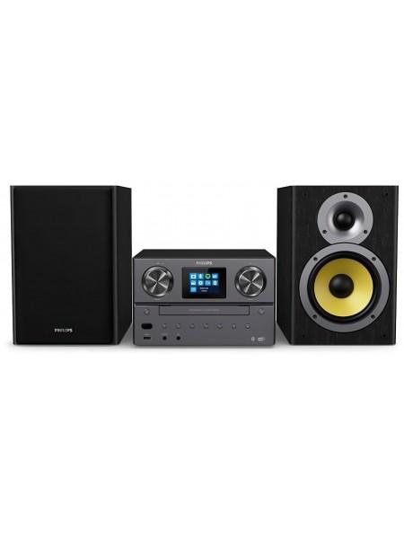 "Мікросистема Philips TAM8905 2.0, 100W, Spotify, LCD 2.4"", FM/DAB+, MP3-CD, USB, Wireless"