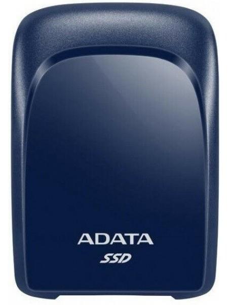 Портативний SSD USB 3.2 Gen 2 Type-C ADATA SC680 1.92TB блакитний (ASC680-1T92U32G2-CBL)