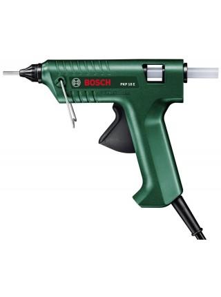 Пістолет клейовий Bosch PKP 18 E, подача 20 г/хв, стрижні 11 x 45 мм, 0.35 кг (0.603.264.508)