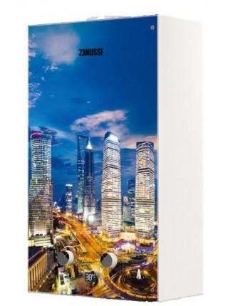Водонагрівач газовий проточний Zanussi GWH 10 Fonte Glass Metropoli