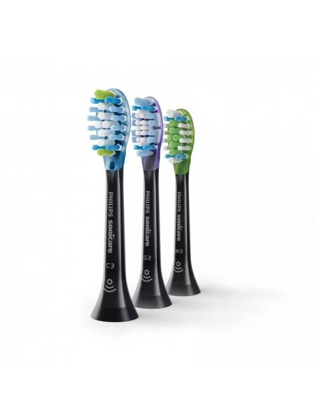 Насадки для электричної зубної щітки PHILIPS Sonicare Premium Pack (C3/G3/W3) HX9073/33