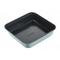 Форма для випікання Ardesto Tasty baking 23,2*22 см квадратна, сірий,голубий, вуглецева сталь (AR230