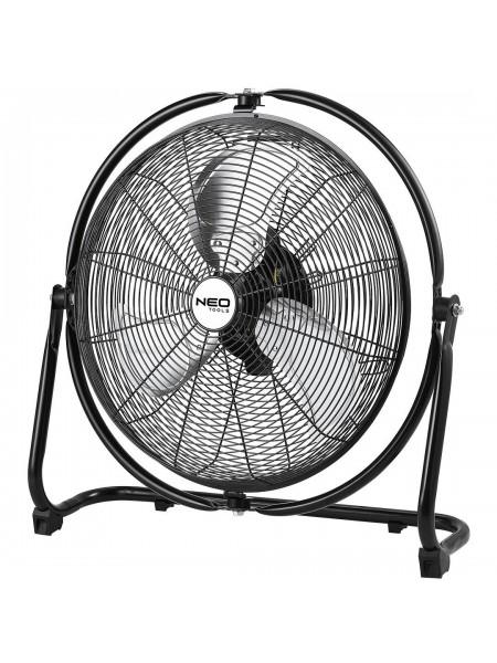 Вентилятор-циркулятор повітря NEO, професійний, 111 Вт, діаметр 45 см, 3 швидкості, двигун мідь.