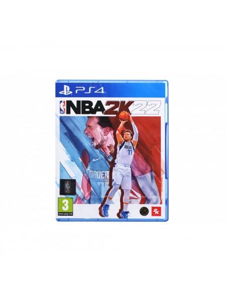 Програмний продукт на BD диску NBA 2K22 [PS4, English version] Blu-ray диск