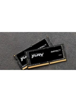 Пам'ять до ноутбука Kingston DDR4 3200 32GB KIT (16GBx2) SO-DIMM Kingston FURY Impact