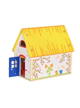 Ляльковий будиночок goki з меблями 51742G