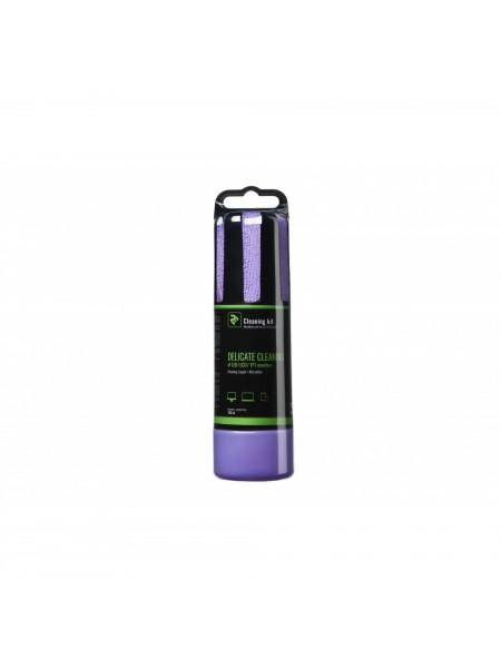 Набір для чищення 2E Liquid for LED / LCD 150ml + серветка, Violet (2E-SK150VT)