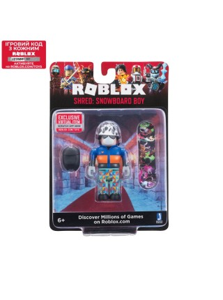 Ігрова колекційна фігурка Jazwares Roblox Core Figures Shred: Snowboard Boy W6