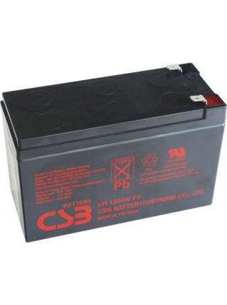 Акумуляторна батарея CSB 12V 9Ah HR1234WF2