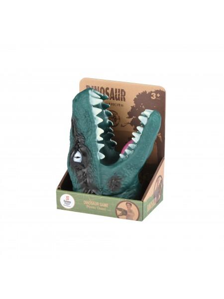 Іграшка-рукавичка Same Toy Dino Animal Gloves Toys зелений AK68622-1Ut2