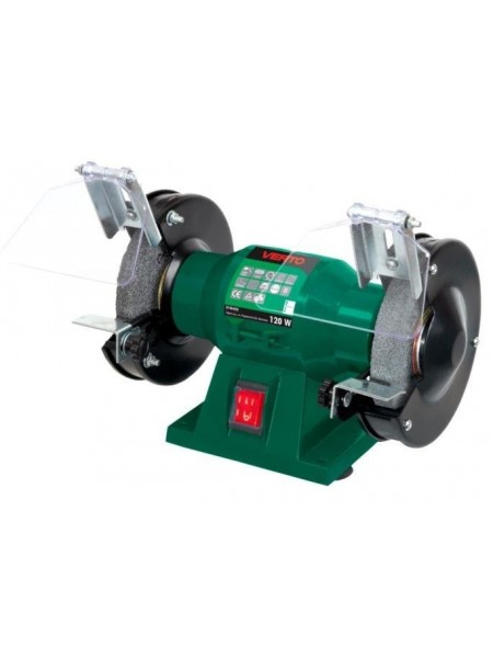 Верстат точильний VERTO 120 Вт,коло 125x12.7 мм