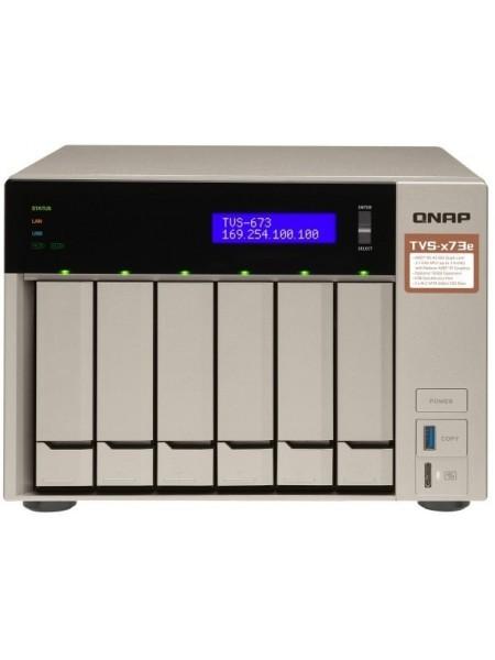 Мережеве сховище QNAP TVS-673e-4G