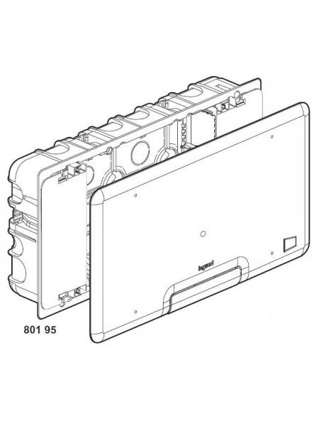 Коробка мультимедійна Legrand Batibox 285x142мм