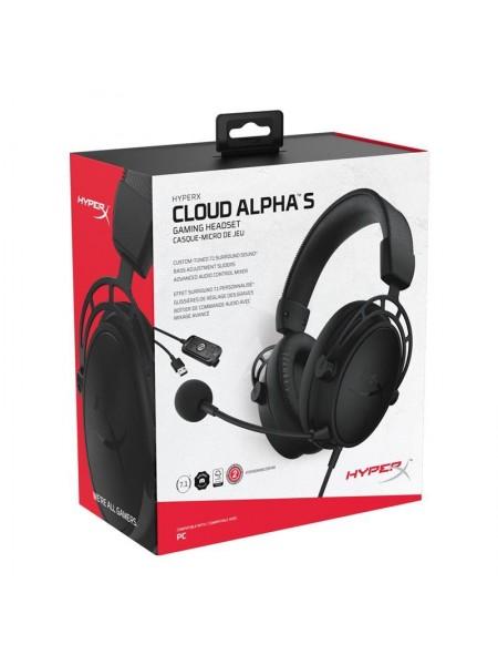 Гарнітура ігрова HyperX Cloud Alpha S Black