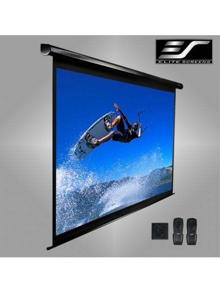 """Екран моторизований настінний 120"""" Elit Screens VMAX120XWH2"""