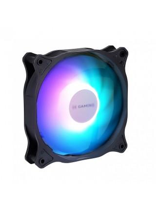 Корпусний вентилятор 2E GAMING OEM (F120ARGB),120мм,3+3PIN5VAura,білі лопаті,чорна рамка