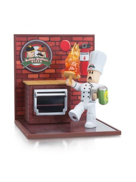 Ігрова колекційна фігурка Jazwares Roblox Desktop Series Work At A Pizza Place: Fired