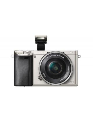 Цифр. фотокамера Sony Alpha 6000 kit 16-50mm Silver (ILCE6000LS.CEC)