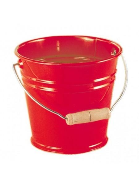 Відро металеве nic червоне NIC535054