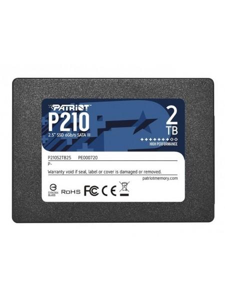 """Накопичувач 2.5"""" SSD 1TB PATRIOT P210S1TB25"""