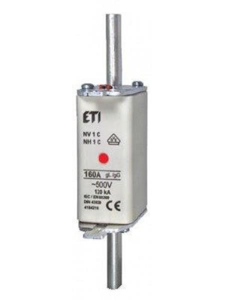 Запобіжник ETI NH-1/gG 250A 500V KOMBI
