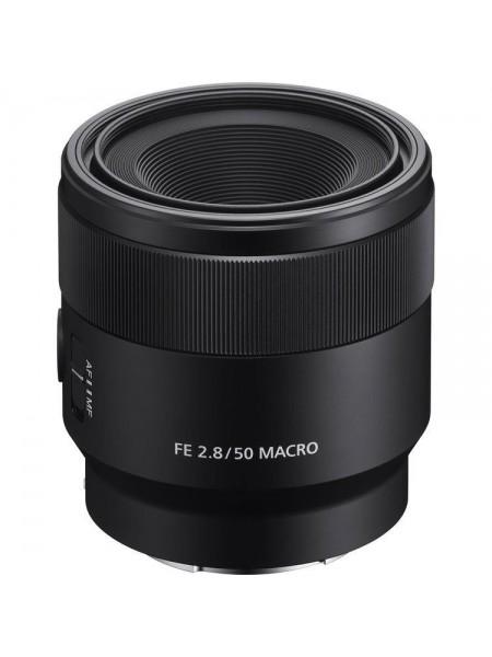 Об'єктив Sony 50mm, f/2.8 Macro для камер NEX FF (SEL50M28.SYX)