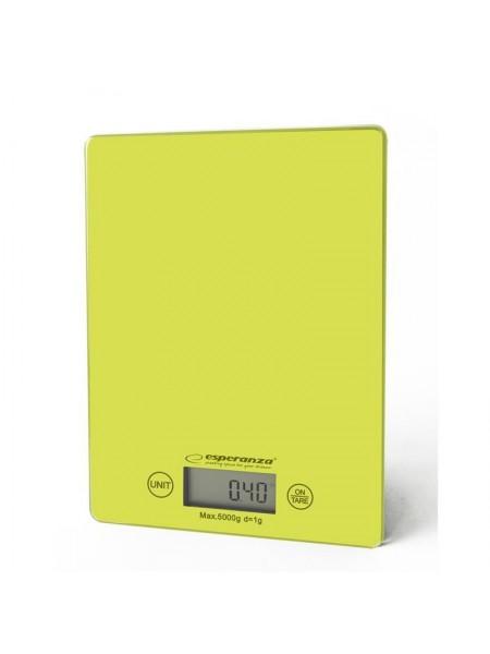 Ваги кухонні Esperanza Scales EKS002G Green