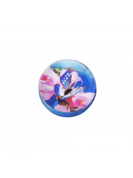 М'ячик-стрибунець goki Метелик синій 16019G-1