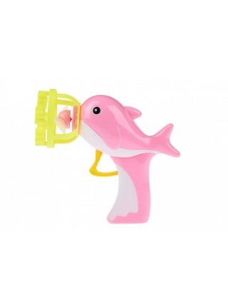 Мильні бульбашки Same Toy Bubble Gun Дельфін рожевий