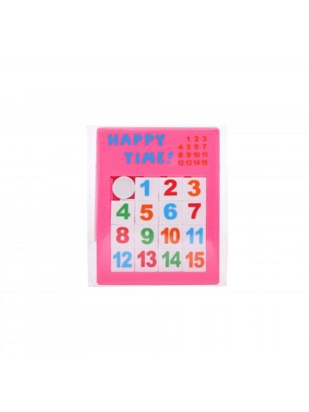 Настільна гра goki П'ятнашки рожеві 13186G-1