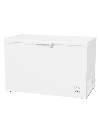 Морозильна скриня Gorenje FH401CW, Висота - 85см,  384л, А+, ST, Електр. Керув., Дисплей, Білий