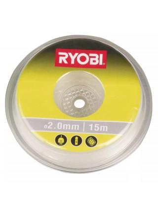 Волосінь для тримера Ryobi RAC102 2.0мм 15м біла (5132002639)