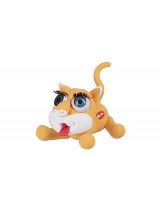 Маса для ліплення Paulinda Super Dough Shiny Eyes Кіт Mimmy глянцеві очі PL-081377-2