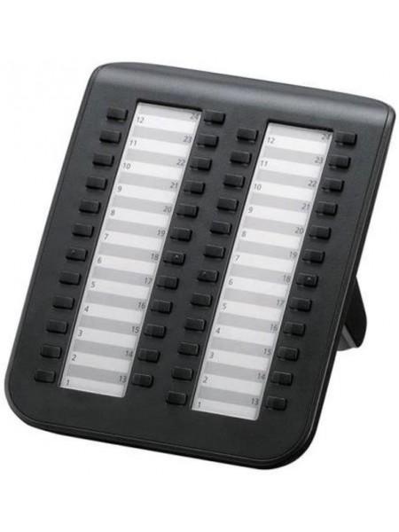 Системна консоль Panasonic KX-NT505X-B для АТС TDЕ/NCP/NS (48 кнопок), чорна