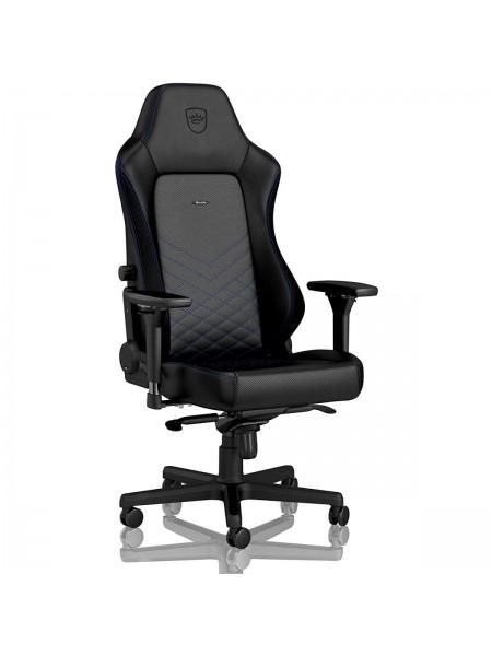 Крісло геймерське Noblechairs HERO Black/Blue (NBL-HRO-PU-BBL)