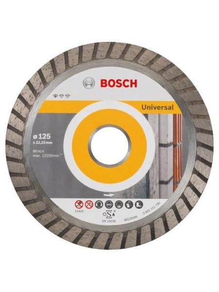 Диск алмазний Bosch Standard for Universal Turbo 125-22.23 (2.608.602.394)
